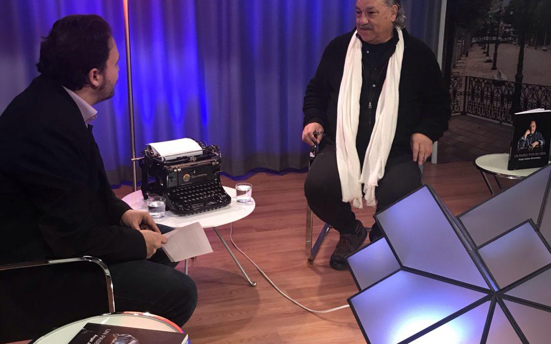 Ángel Juárez, entrevistado en Radio Televisión Municipal de Granada