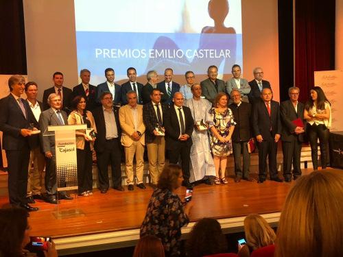 Ángel Juárez participa de manera activa en la ceremonia de los Premios Emilio Castelar